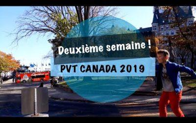 VLOG #6 – PVT CANADA 2019 – Bienvenu dans l'érable !