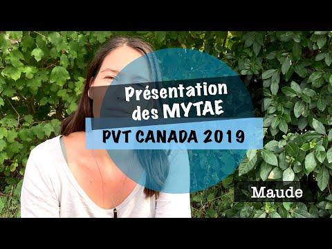VLOG #4 – PVT CANADA 2019 – présentation des MYTAE : Maude